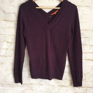 Modcloth V-Neck Pullover Sweater